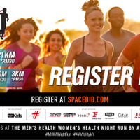 Men's Health Women's Health Night Run by AIA Vitality 2017